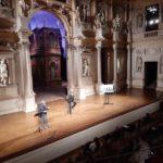 I Classici del Teatro Olimpico di Vicenza di Marinelli, sul palco Galiena, Montefoschi, Mondello, Buttafuoco, Zago, Monti, Presotto e Pennacchi