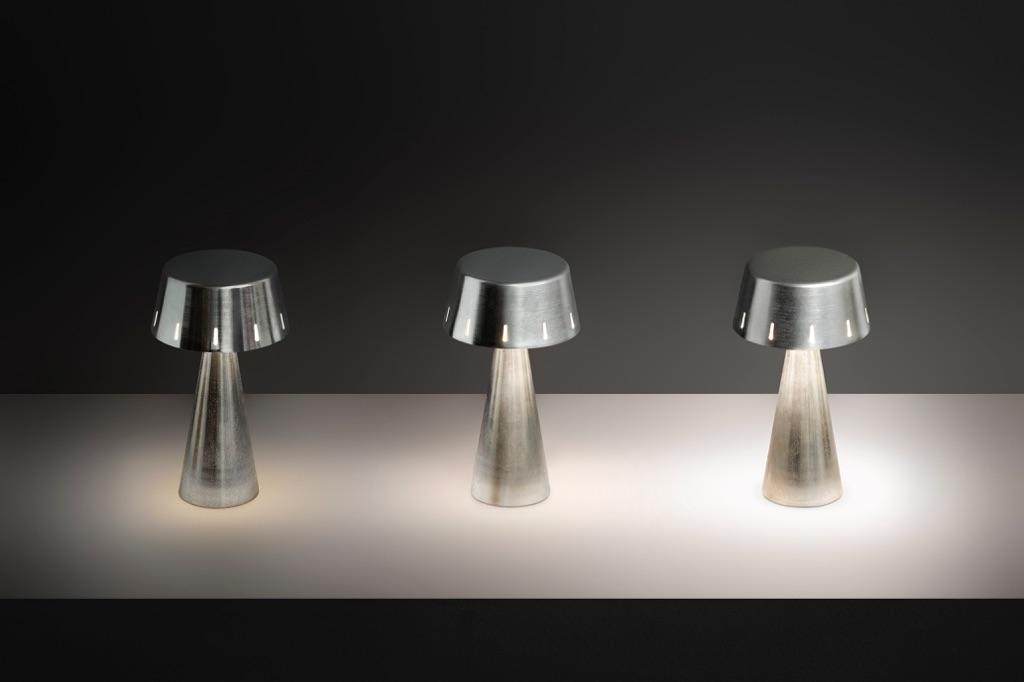 Lampade Da Tavolo Senza Fili A Batteria Ricaricabile Olev Design