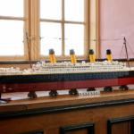Il Titanic in formato LEGO