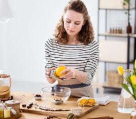 Preparing soap from natural ingredients