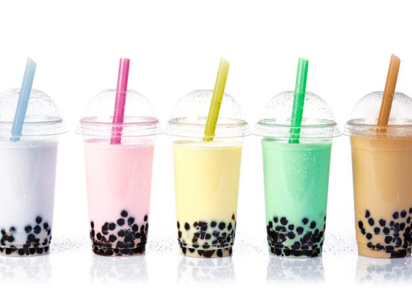 Bubble Tea in a row