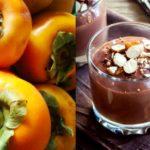 Valorizziamo i cachi e le loro proprietà nutrizionali: il budino di kaki e cacao
